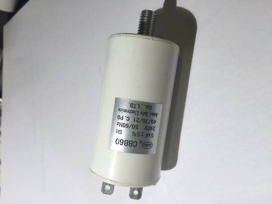Capacitor 5Uf ELBA and fisher paykel, Smeg, Omega and Whirlpool and Haire Dishwasher Capacitor