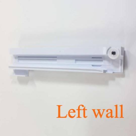 Samsung Fridge Rail for left wall veggie Bin SRF717CDBLS,