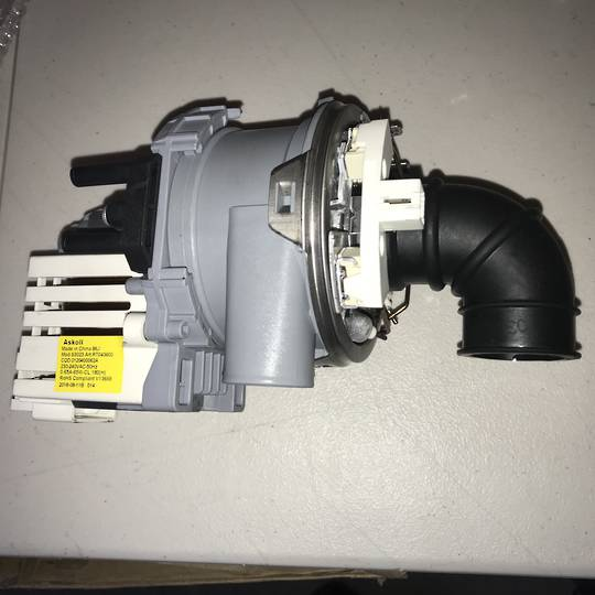 Haier fisher paykel dishwasher Wash Pump and element HDW14G2X, HDW13G1X, HDW14G2, DW60CHW1, DW60CHX1, DWCHPW1, DW60CHPX1