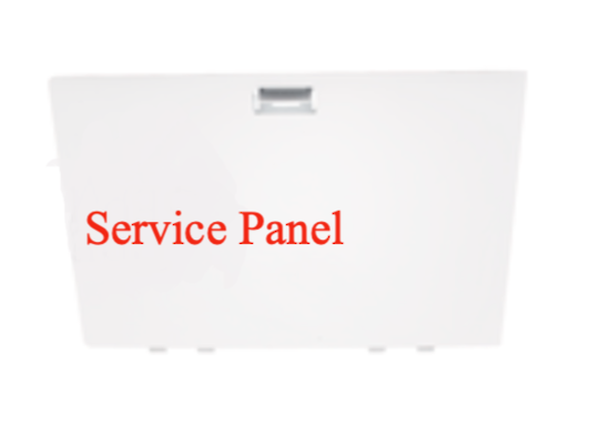 Haier Dryer Service panel HDC80E1, 61425-A,  HD80-01, DE8060P1, DE8060P2,