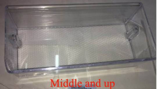 samsung fridge door Bottle shelf Middle or Upper RS62K62B7SL/SA, SRS655NLS,