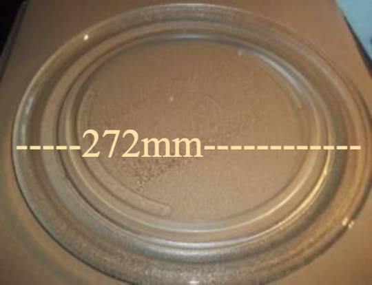 sharp Microwave Glass Turntable Plate R200K R200L, 270mm, - 272mm,