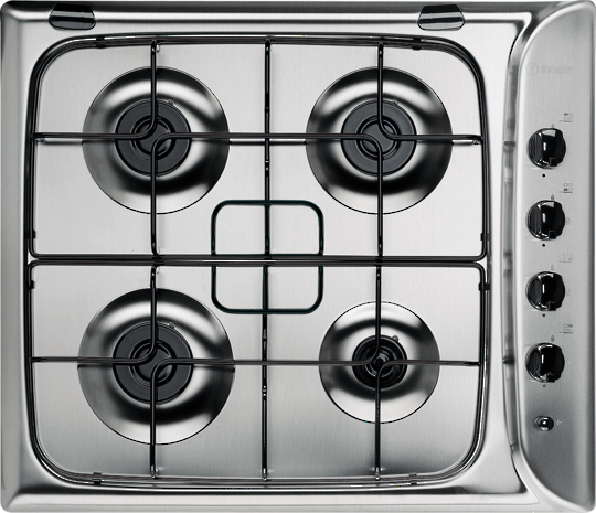 Indesit PIM 640 Indesit 4 Burner Gas Cooktop