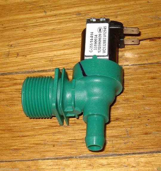 INLET VALVE DISH WASHER HAIRE Fisher & Paykel DW60CSW1, DW60CDW1, DW60CDW2, DW60CDX1, DW60CDX2, DW60CSX1,