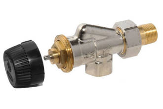 15mm Axial Radiator Valve