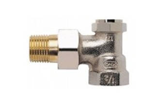 15mm Angled Lockshield Valve