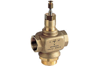 15 to 50mm 3 way Valve for HVAC & Steam