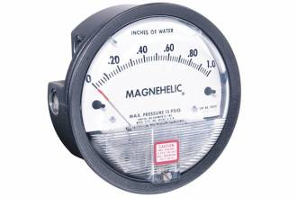 kPa Single Scale Magnehelic DP Gauge