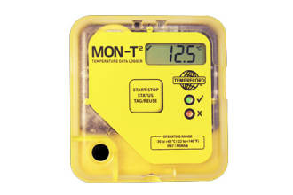 -30 to 60°C Mon-T2 Logger c/w LCD