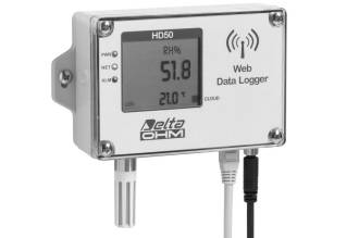Temperature Humidity Datalogger-LCD