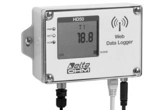 1 Ch NTC Temperture Datalogger - LCD