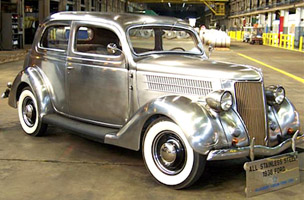 Stainless steel 36 Ford 200