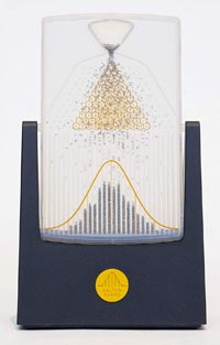 galton board normal gaussian distribution
