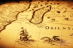 old-map-sea-monster-sailing-ship-africa-madagascar-colin-and-linda-mckie