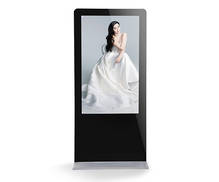 Floor Standing IPhone Style Digital Signage Kiosk