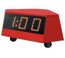 Concentration Clock - with wind and temperature measurement
