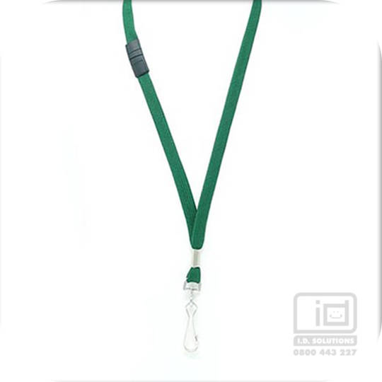 Green Tube Lan with BRKWY Swivel Hook - 12mm wide