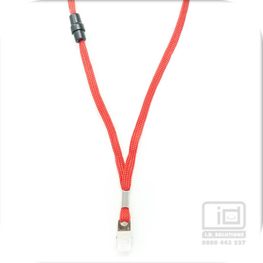 Red Lan with BRKWY Bulldog Clip - 8mm wide