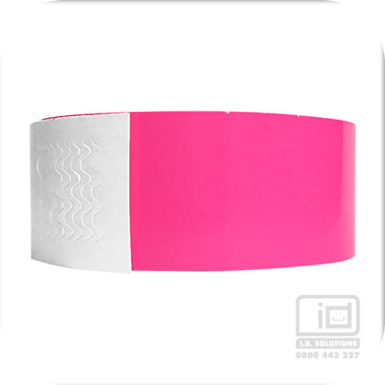 Genesis neon pink wristbands