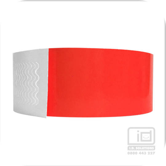 Biodegradeable Wristbands Red