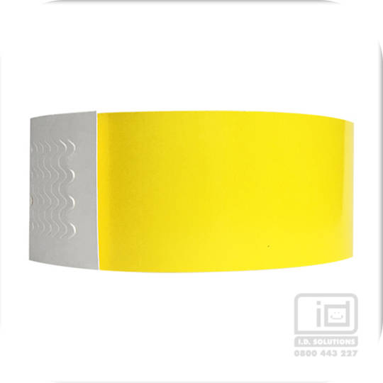 Biodegradeable Wristbands Yellow