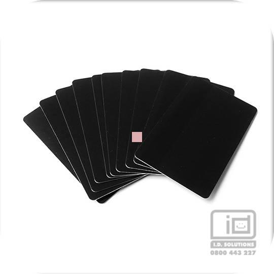 Blank Cards Black