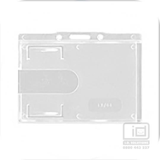 LX88 Clear landscape card holder