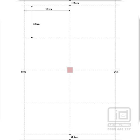 98x70 Paper Inserts