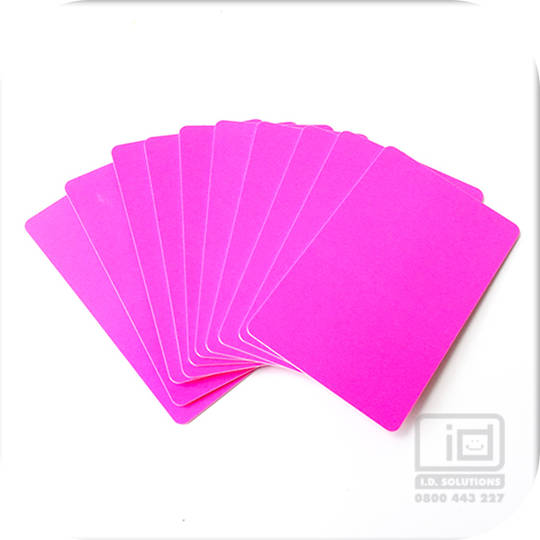 Blank Cards Pink