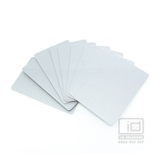Blank Cards Silver