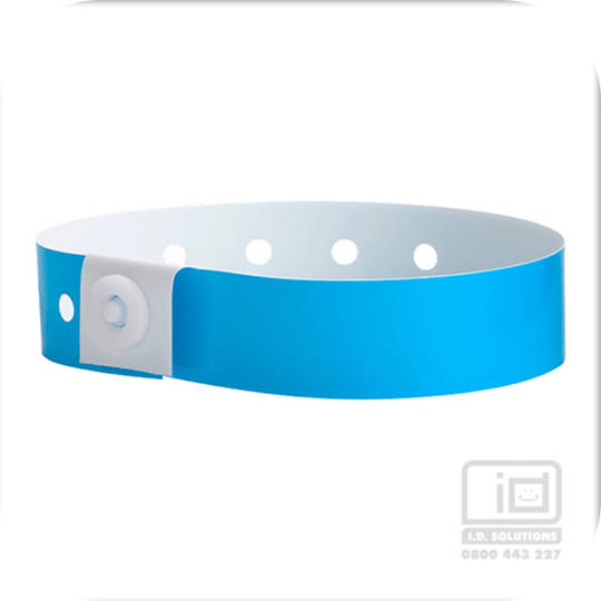 Soft Comfort Wristbands Blue