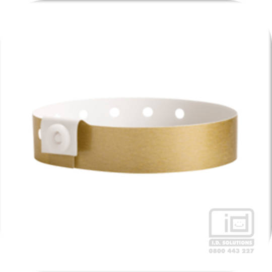 Soft comfort wristbands Gold