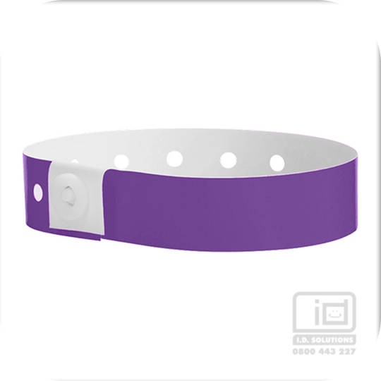 Soft comfort wristbands Purple