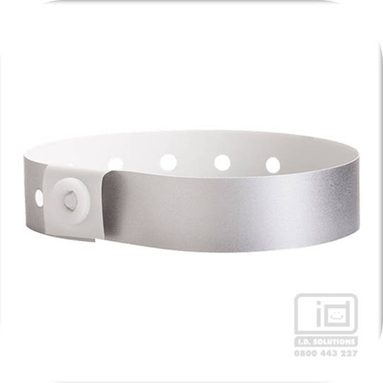 Soft comfort wristbands Silver