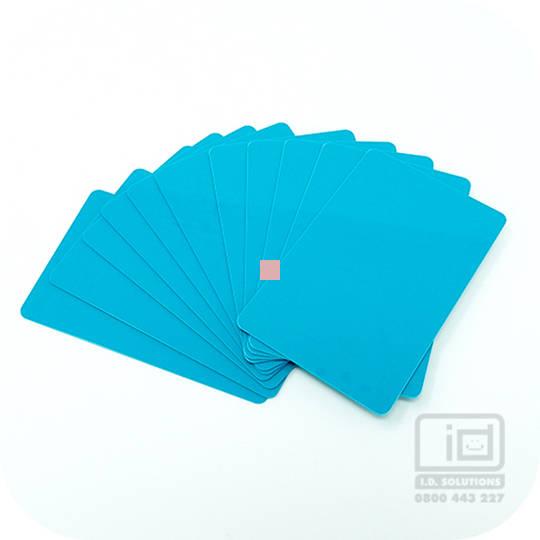 Blank cards Teal