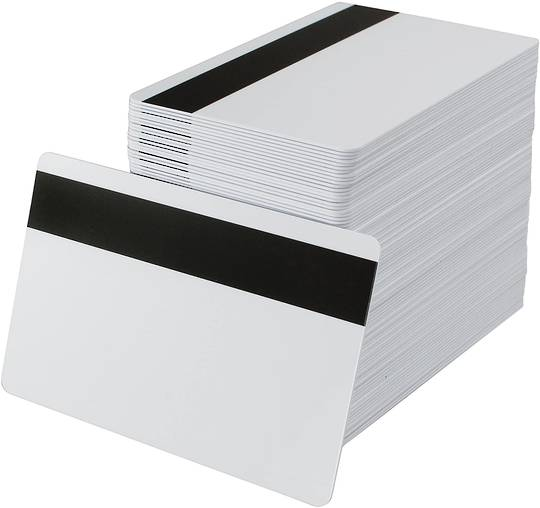 Blank cards  Mag, White