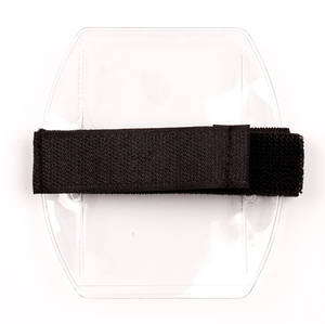 Armbands Black Vertical Velcro