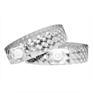 Holographic Wristbands Silver
