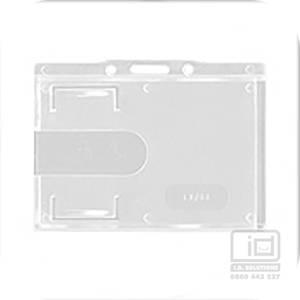 LX88 Clear landscape card holder