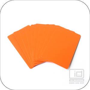 Blank Cards Orange