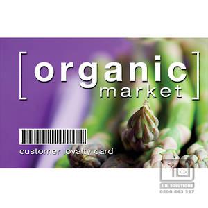 Printed Membership and Loyalty Cards