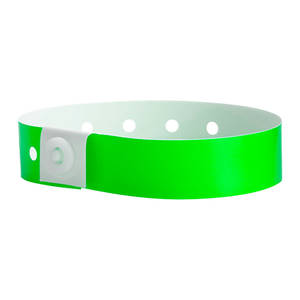 Soft Comfort Wristbands Neon Lime