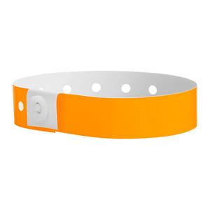 Soft Comfort Wristbands Orange