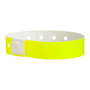 Soft Comfort Wristbands Yellow Glow