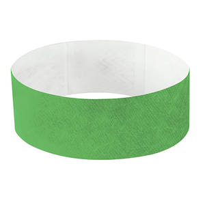 25mm Tyvek Wristband Neon Orange