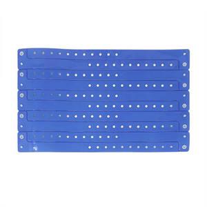 Neon blue vinyl wristband (9)