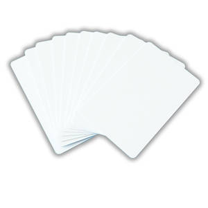 Blank Cards White