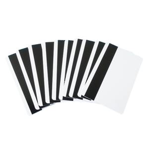 Blank Cards with Magnetic Stripe White