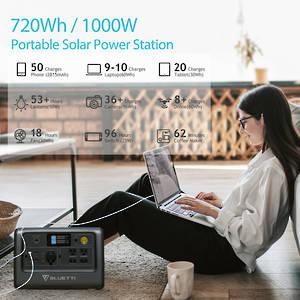 EB70 Portable Solar Power Station