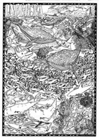 Doodle Art  undersea
